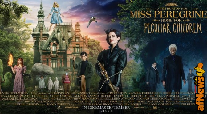 Introducing Miss Peregrine's Home for Peculiar Children: Emma