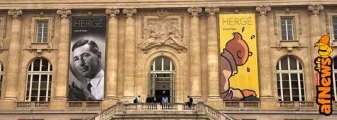 320.000 visitatori alla grande mostra su Hergé e il mercato premia i Classici