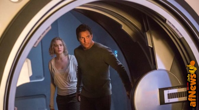 Passengers: Jennifer Lawrence e Chris Pratt