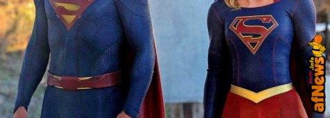 Foto: Supergirl mostra Superman!
