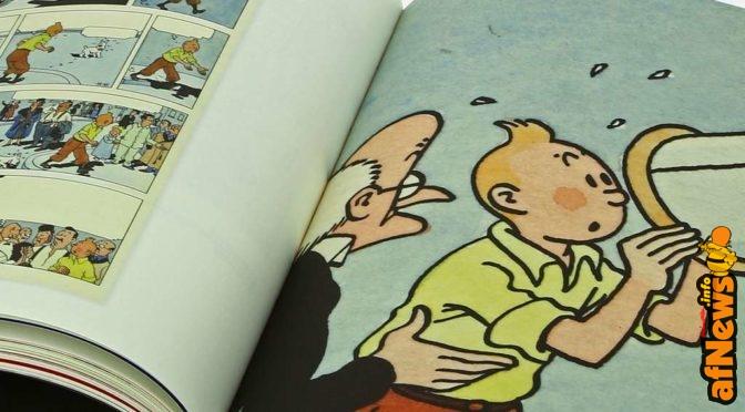 Il grande catalogo della grande mostra su Hergé