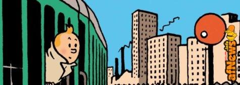 In mostra i treni (originali) di Tintin!