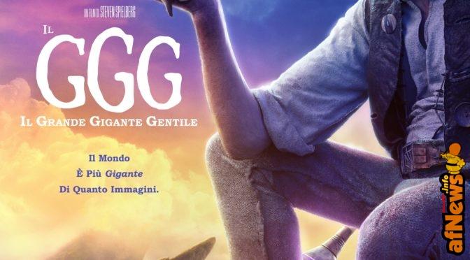 """Il """"GGG"""" di Spielberg in Italia dal 30 dicembre: poster e featurette"""