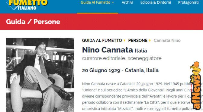 Nino Cannata passed away