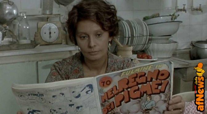 Sophia Loren legge Dick Fulmine, però…
