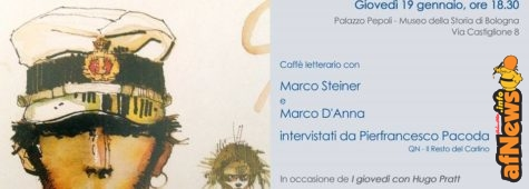 Oggi a Bologna, con Corto un caffé... letterario