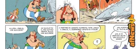 Ecco la nuova avventura di Asterix... o di Obelix?