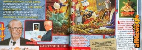 Appello del Carl Barks Fan Club Italia, a rischio chiusura