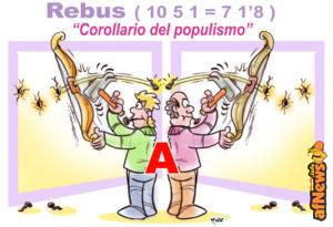 SatiRebus – Qual è un possibile corollario del populismo ?