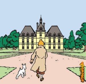 Tintin: il castello di Moulinsart si visita davvero!