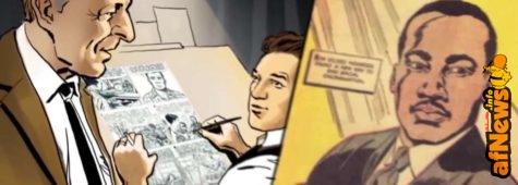 Video: La storia del fumetto su Martin Luther King