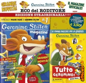 Geronimo Stilton, magazine e…