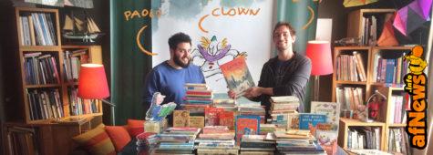 Da Genova parte parte il volo del Clown: Arteprima Animation nel mondo di Quentin Blake