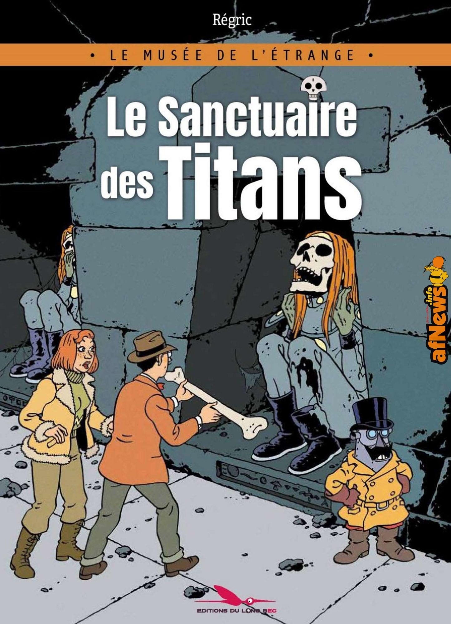Recensione: Il Santuario dei Titani di Régric