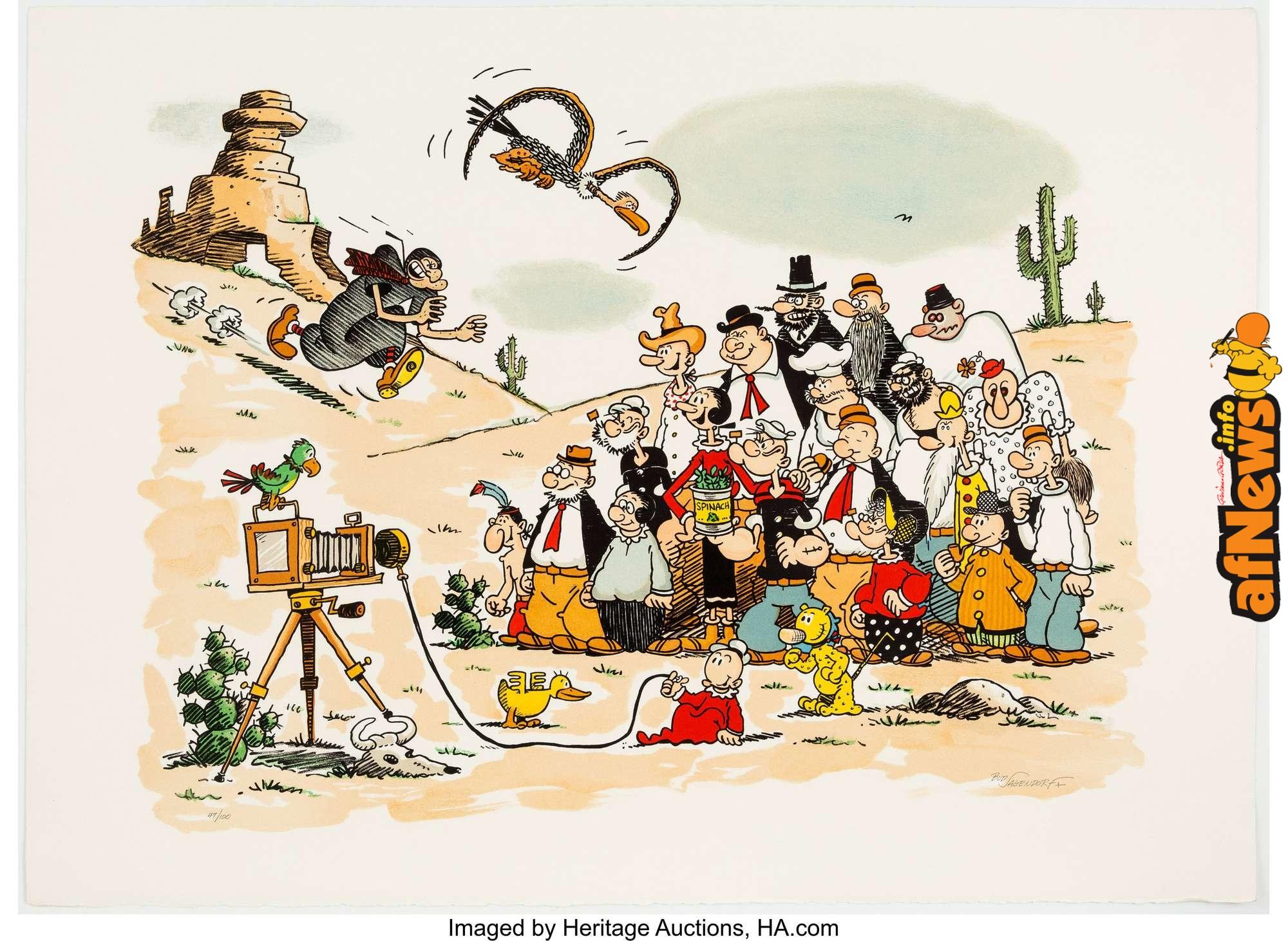ZooM, Popeye, Wakatoon, Hanna e Barbera, Pico, Tanguy e Laverdure, Blake e Mortimer
