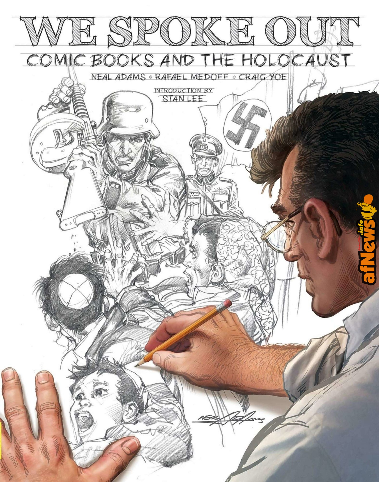 We spoke out: antologia di fumetti sulla Shoah - afnews.info