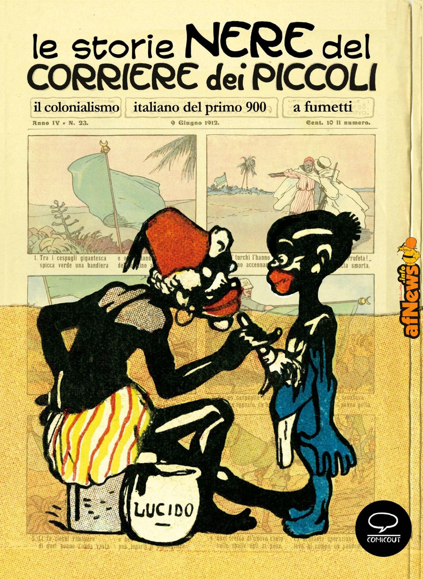 Razzismo italico: Italia e Africa attraverso i grandi fumetti del Corriere dei Piccoli - afnews.info