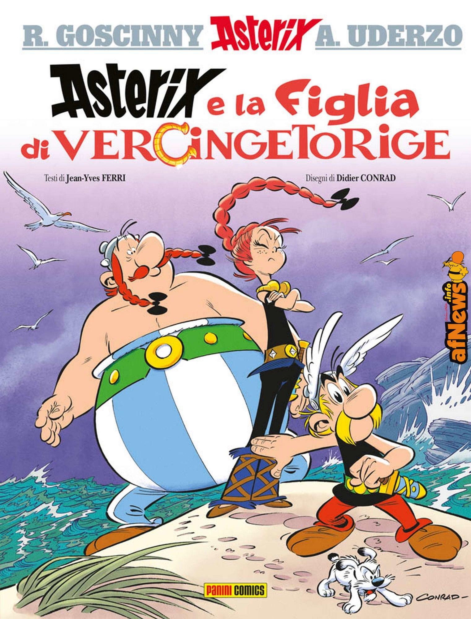 Asterix 38: La figlia di Vercingetorige, voilà! - afnews.info