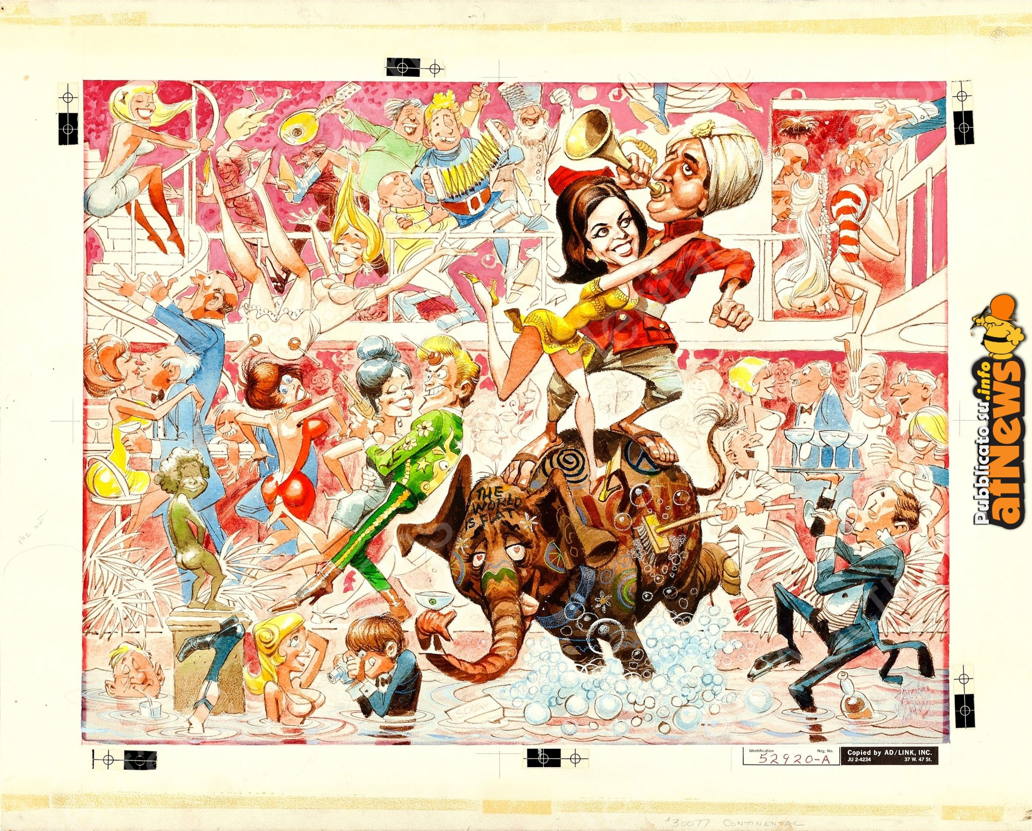 The Party poster by Jack Davis